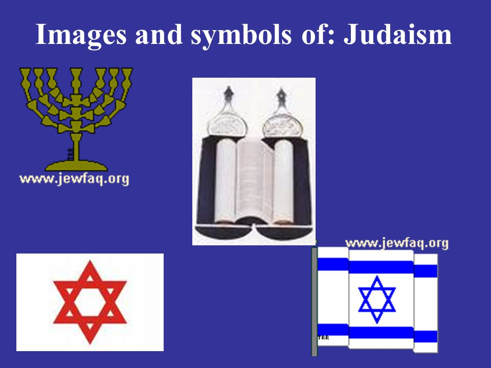 Images and symbols of: Judaism