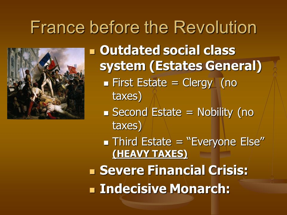 France before the Revolution