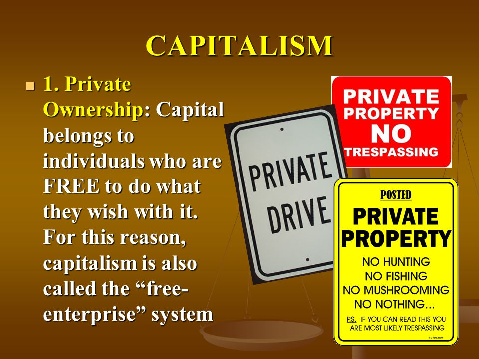 State Capitalism vs. Private Enterprise
