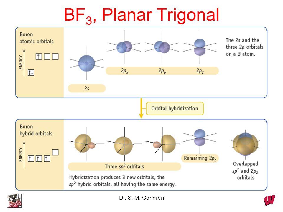 BF3, Planar Trigonal Dr. S. M. Condren