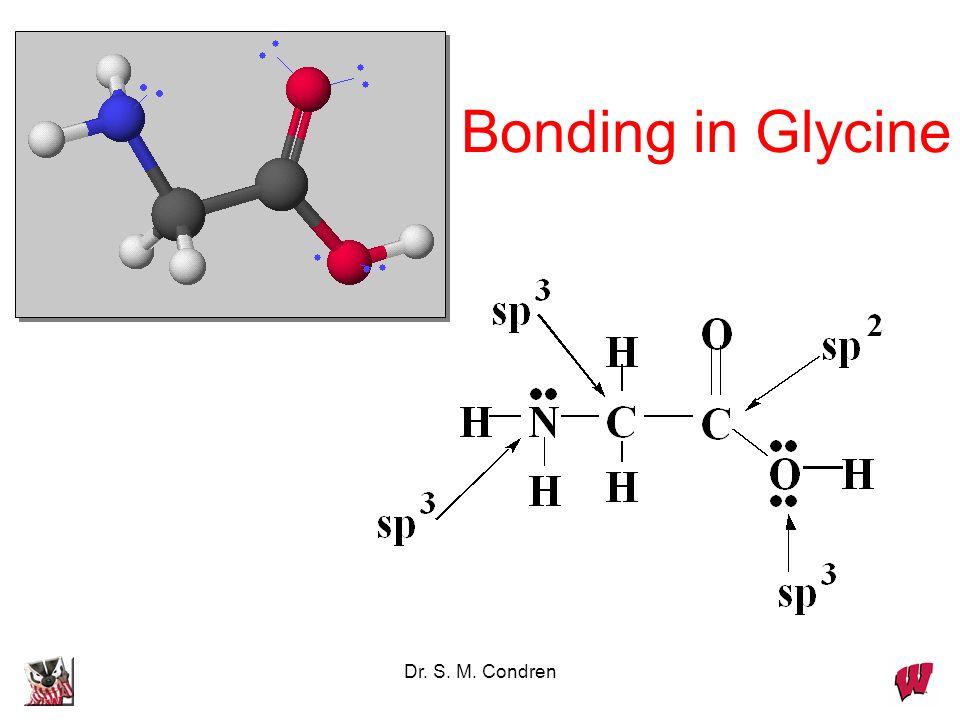 Bonding in Glycine Dr. S. M. Condren