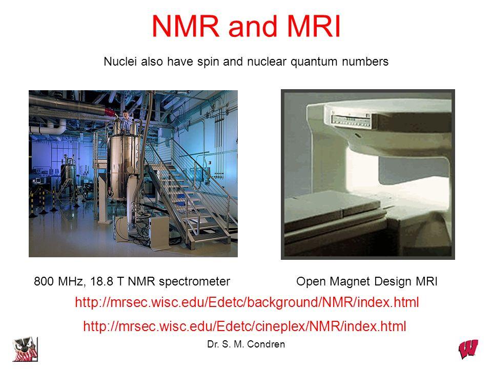 NMR and MRI http://mrsec.wisc.edu/Edetc/background/NMR/index.html