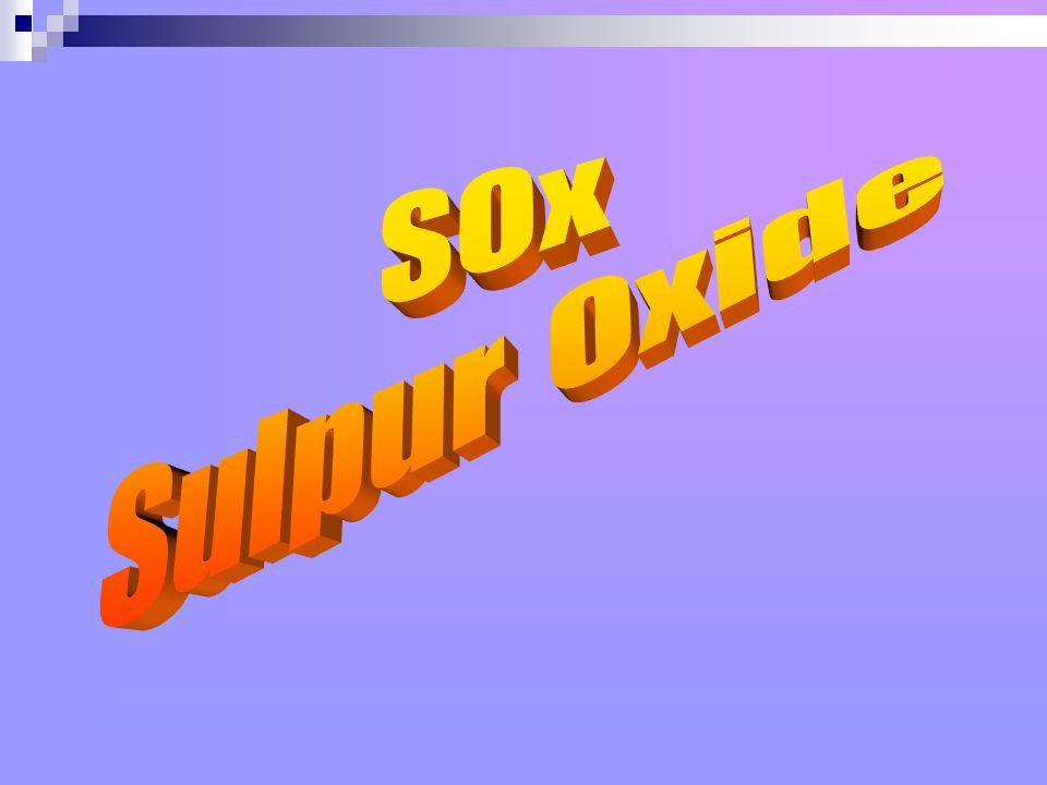 SOx Sulpur Oxide