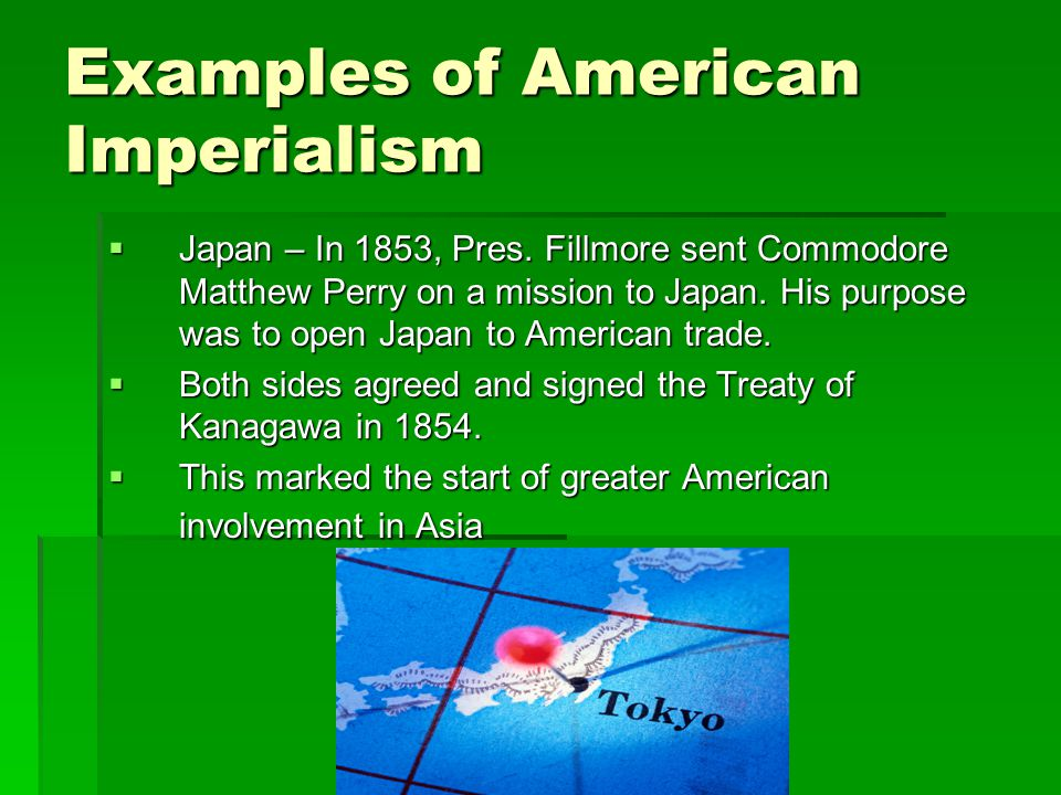 Examples of American Imperialism