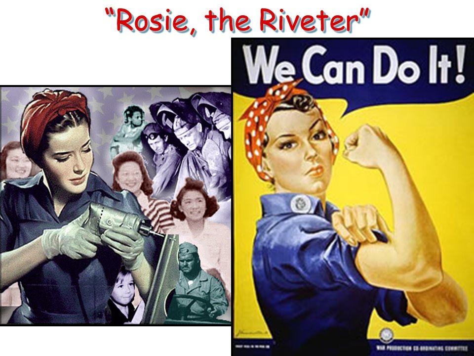 Rosie, the Riveter