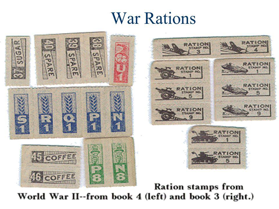 War Rations