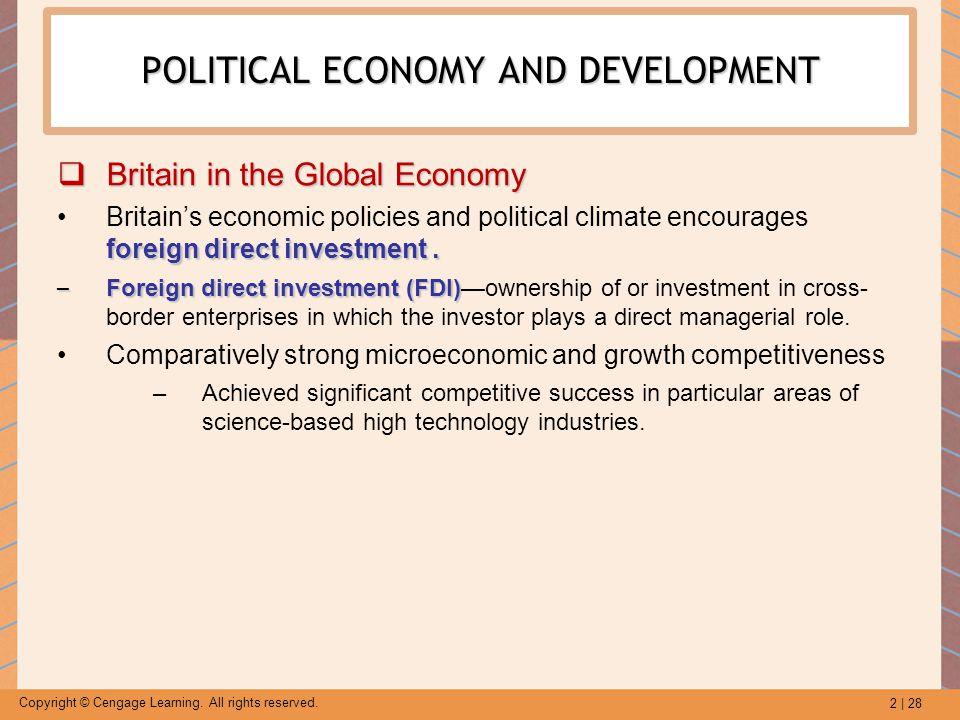 POLITICAL ECONOMY AND DEVELOPMENT