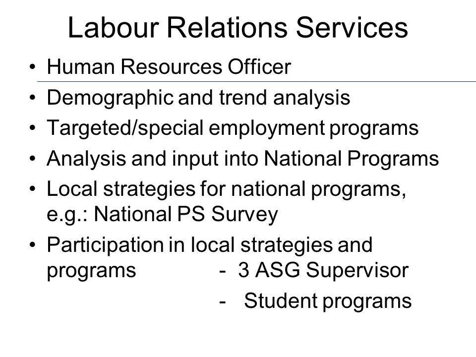 Labour Relations Services