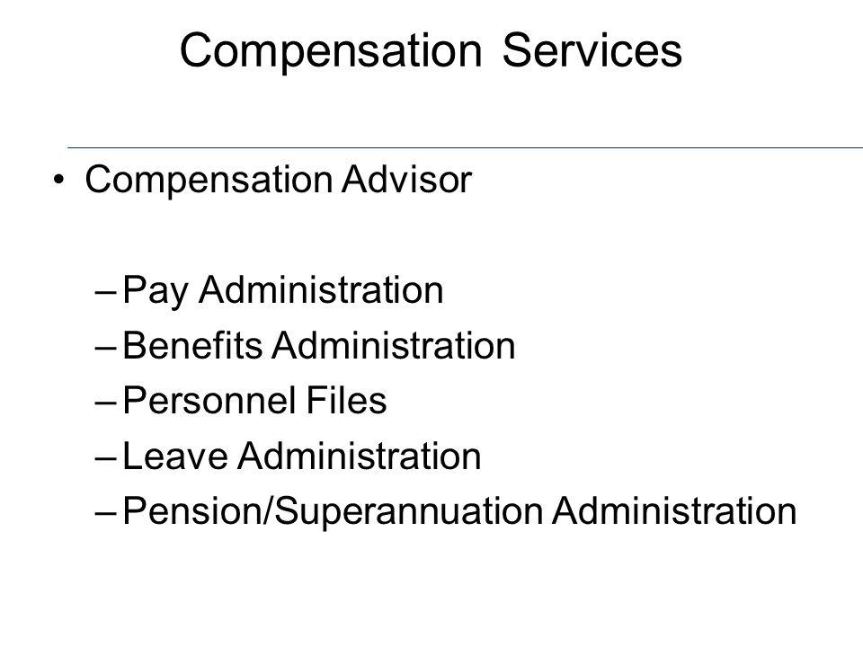 Compensation Services