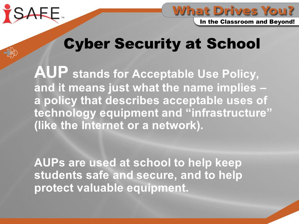 Cyber Security at School