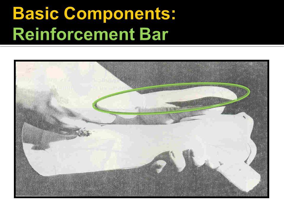 Basic Components: Reinforcement Bar