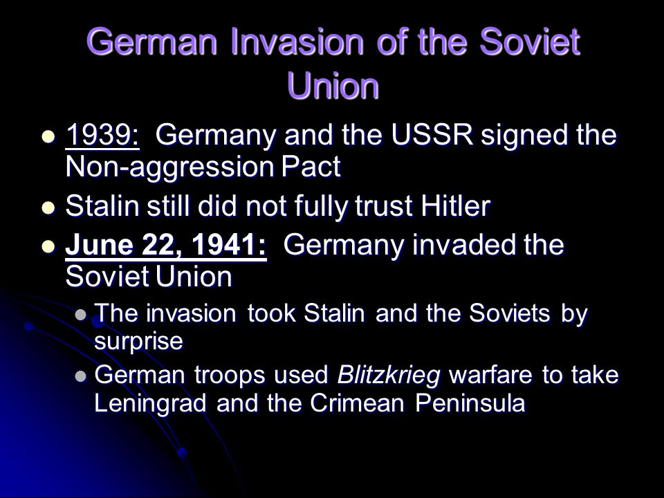 German Invasion of the Soviet Union