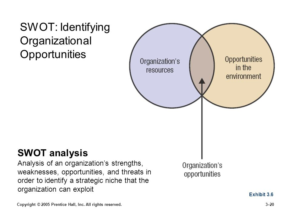 SWOT: Identifying Organizational Opportunities
