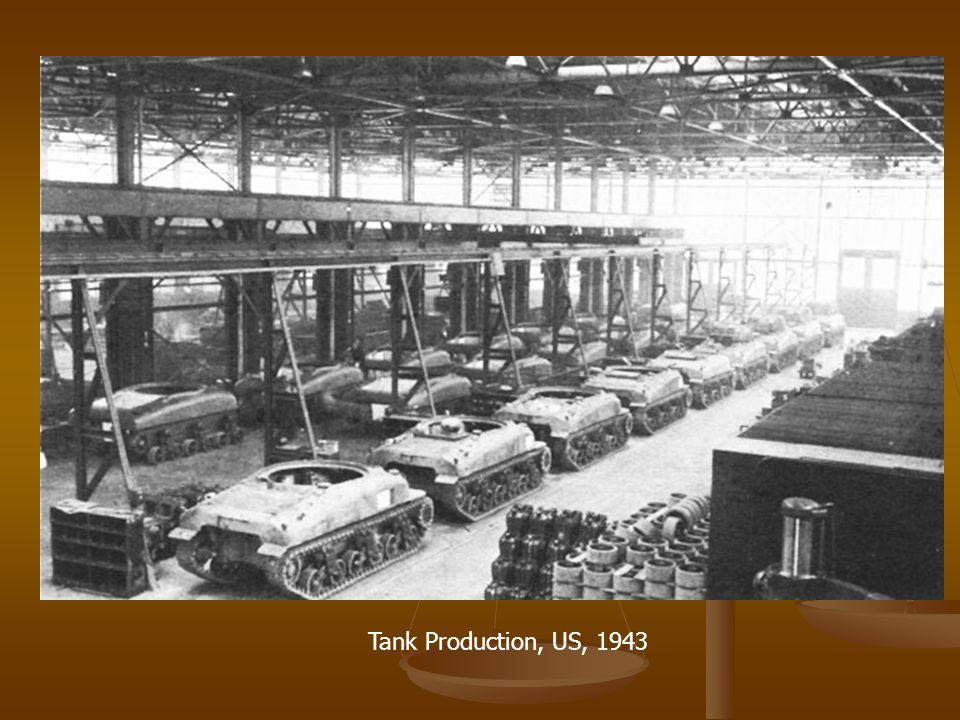 Tank Production, US, 1943