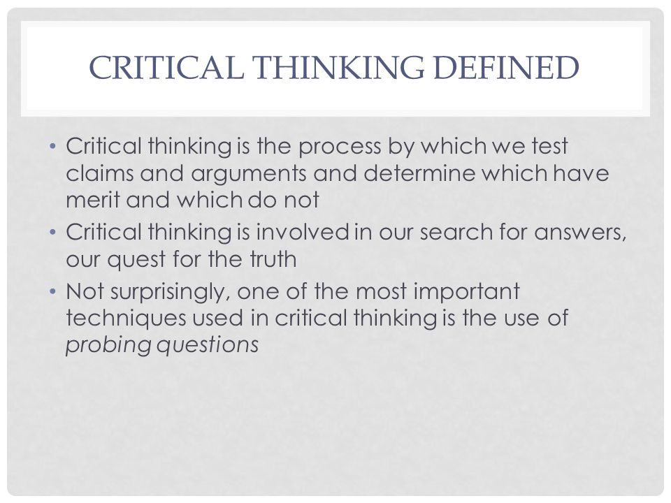 critical thinking claims vs arguments In this lesson, you'll consider what makes a good argument that involves critical thinking you'll also learn the shortcomings of using opinions to try to prove a claim.