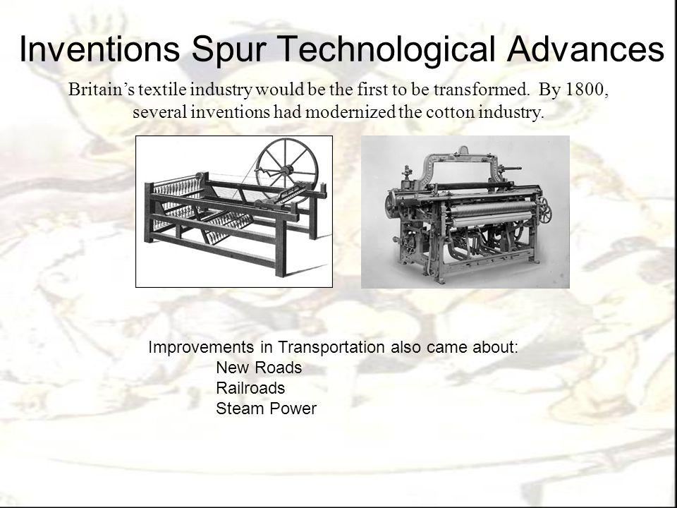Inventions Spur Technological Advances