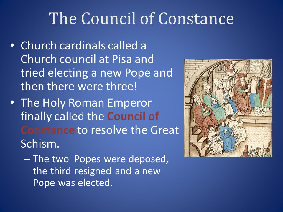 The Council of Constance