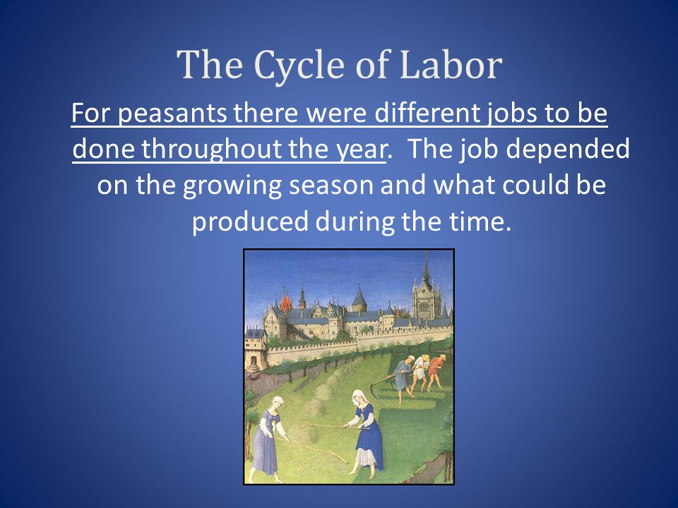 The Cycle of Labor