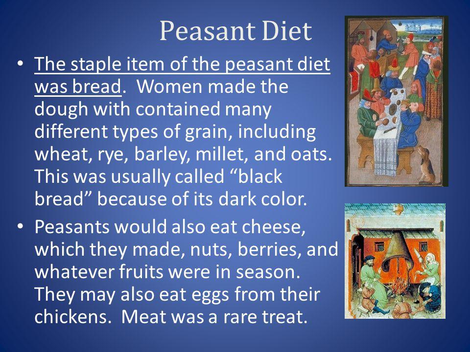 Peasant Diet