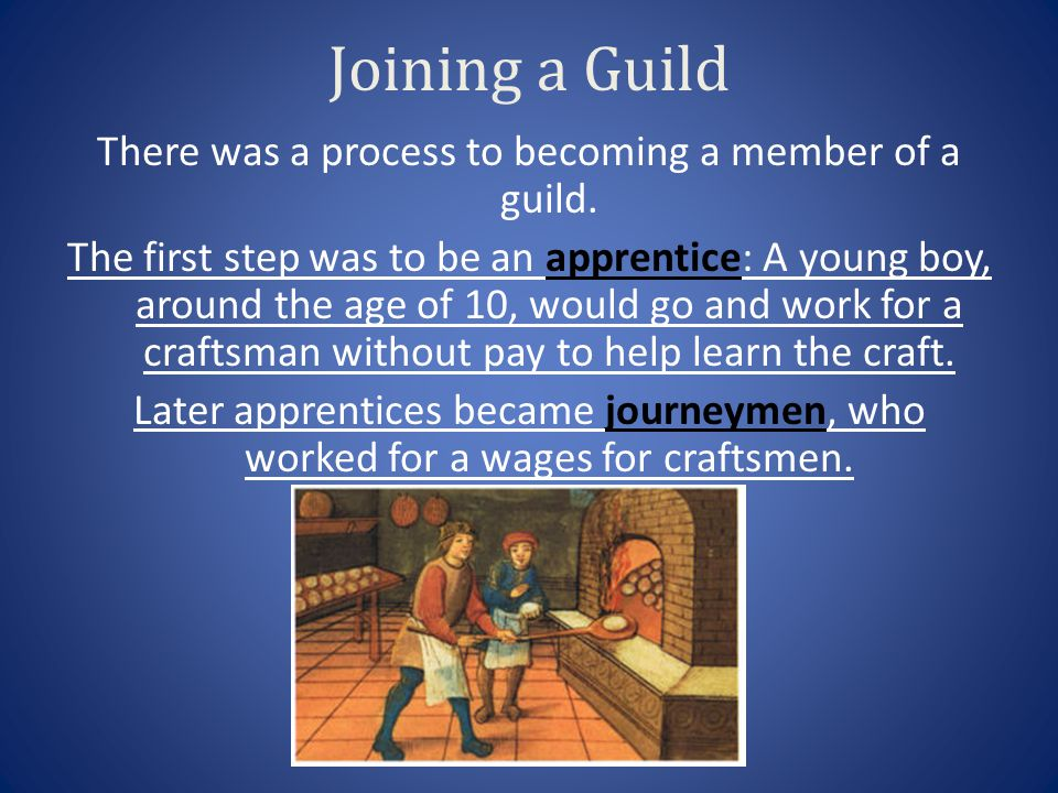 Joining a Guild
