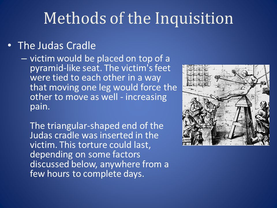Methods of the Inquisition