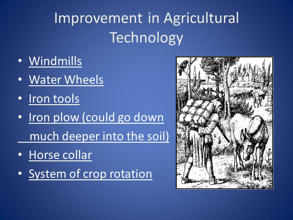 Improvement in Agricultural Technology