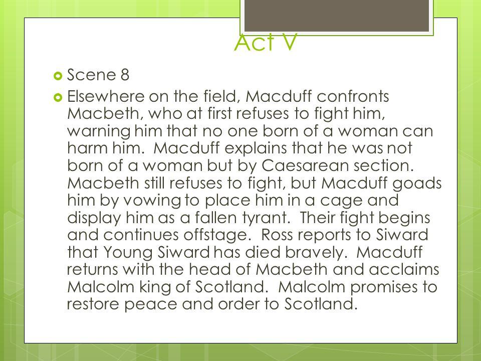 Act V Scene 8.