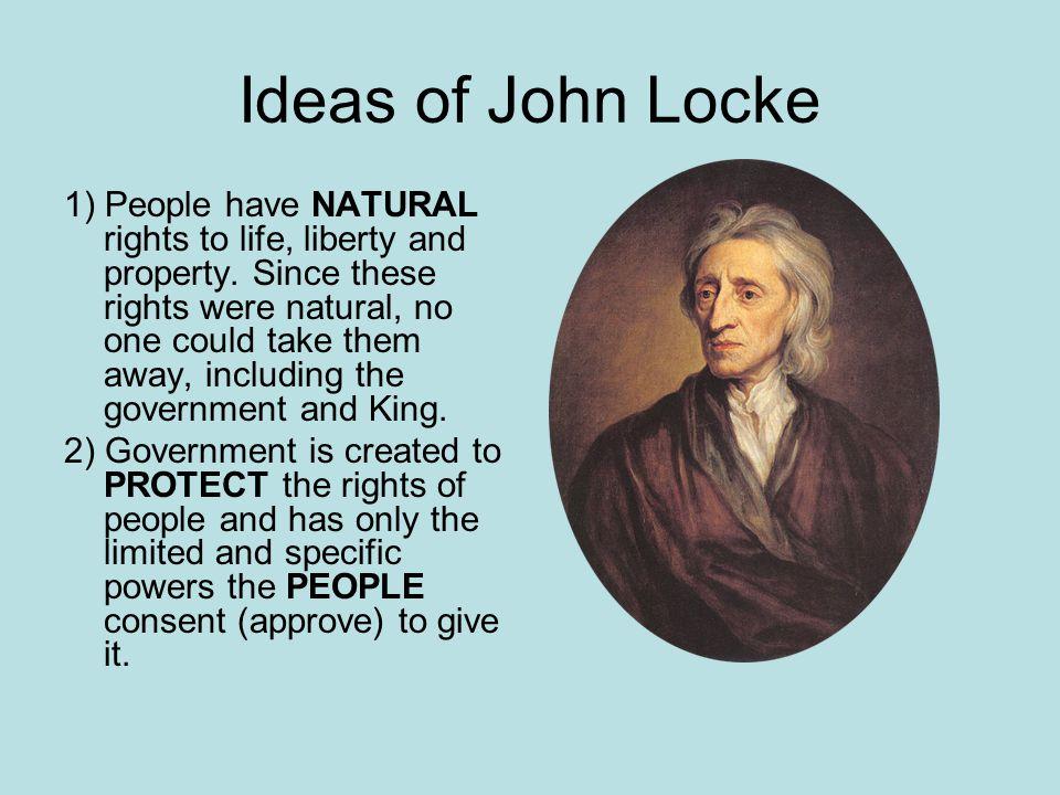 Ideas of John Locke