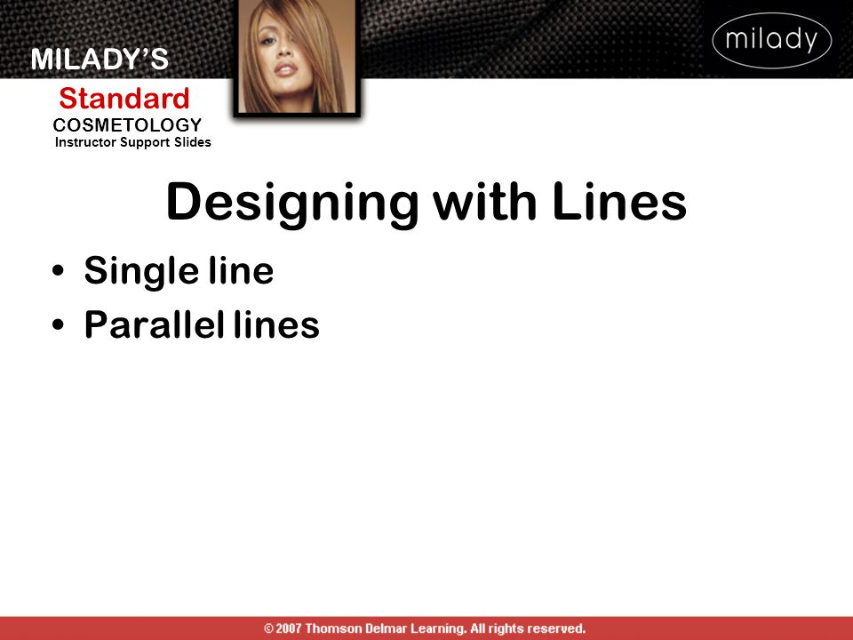 Designing with Lines Single line Parallel lines DESIGNING WITH LINES