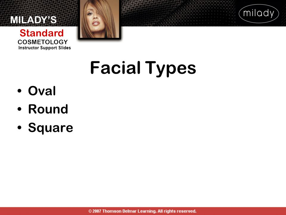Facial Types Oval Round Square