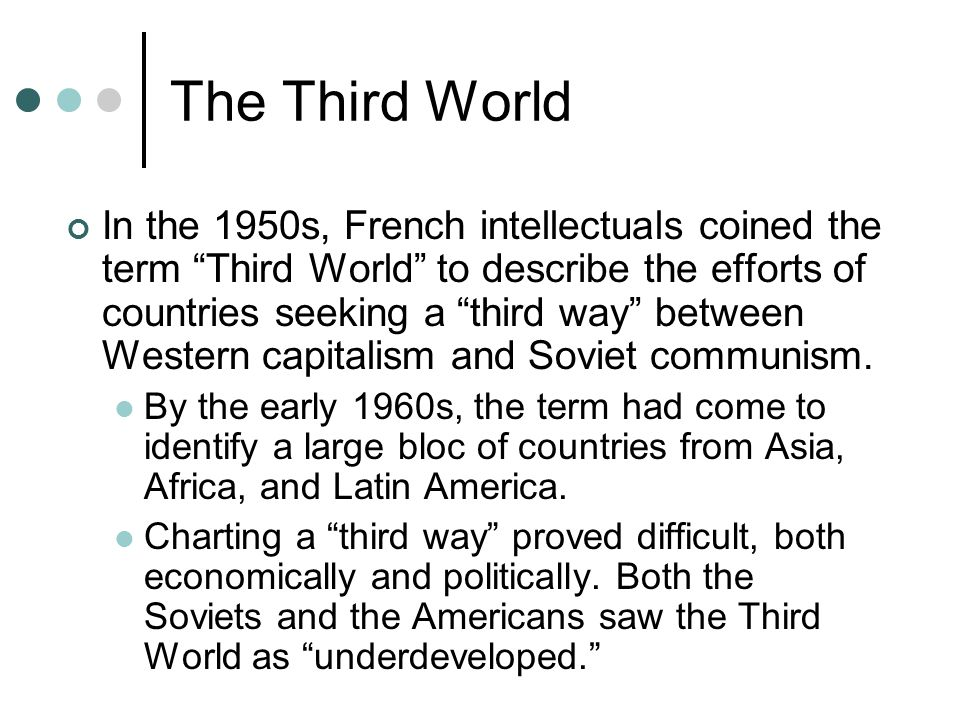 The Third World