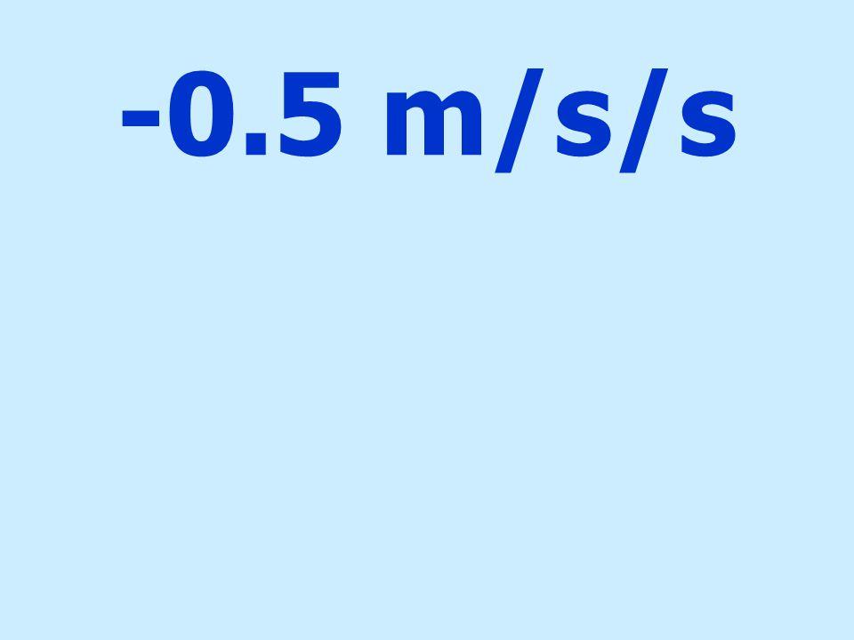 -0.5 m/s/s