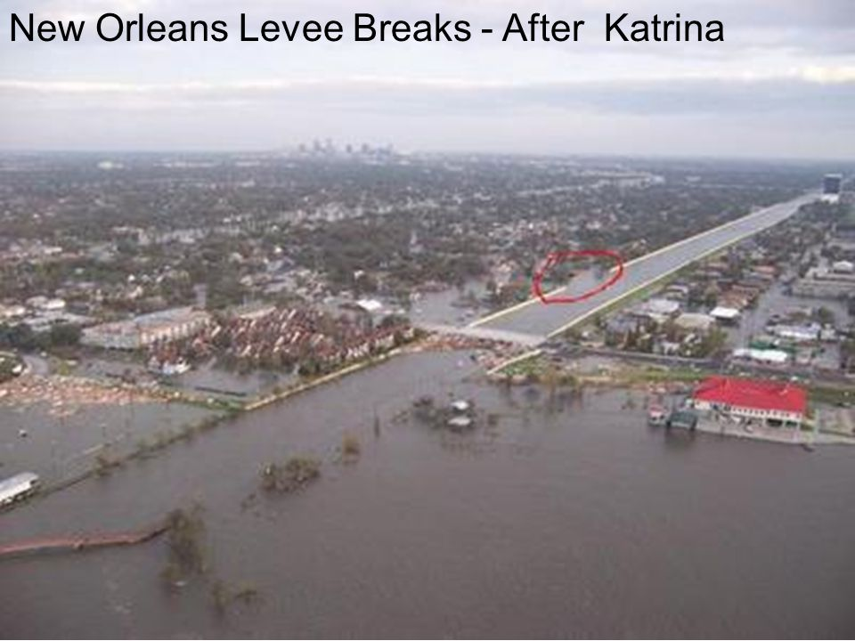 New Orleans Levee Breaks - After Katrina