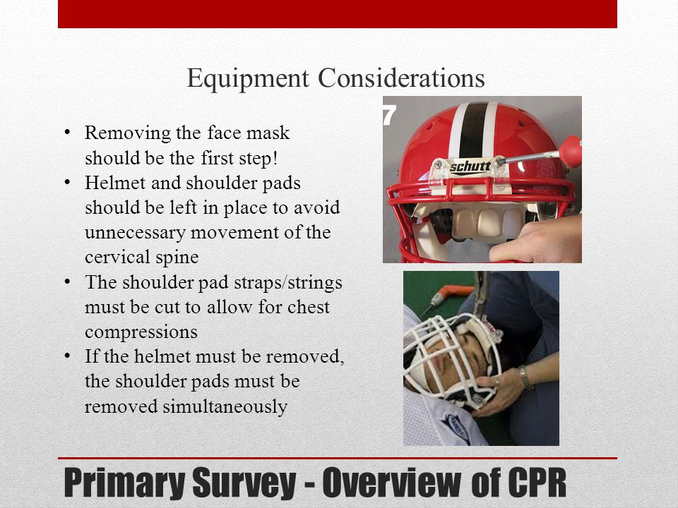Primary Survey - Overview of CPR
