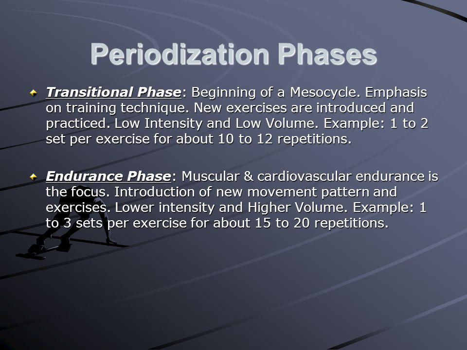 Periodization Phases