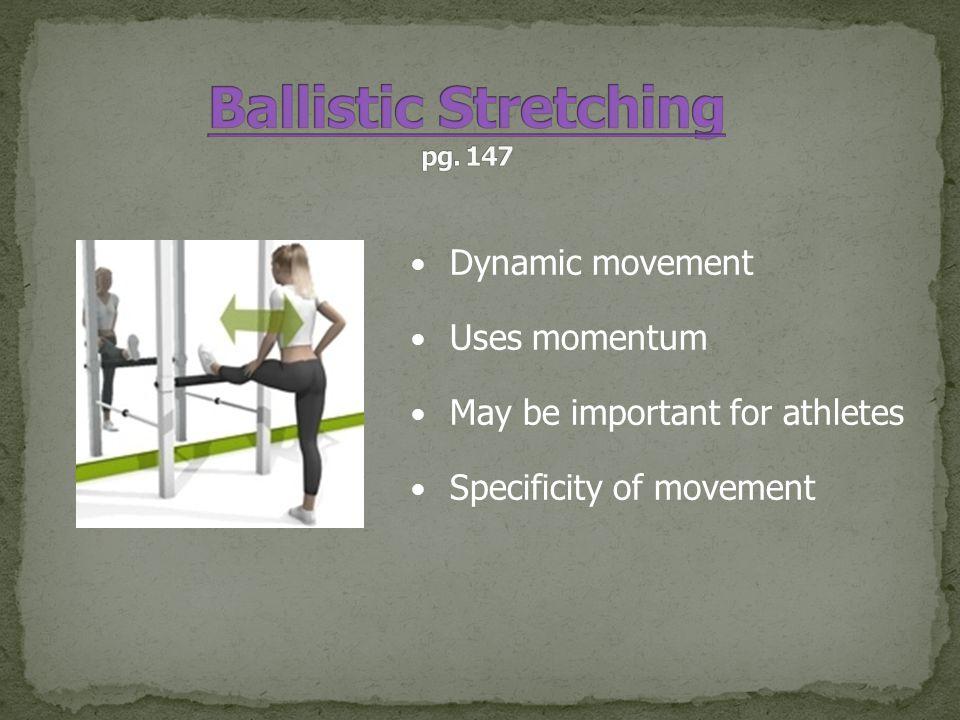 Ballistic Stretching pg. 147
