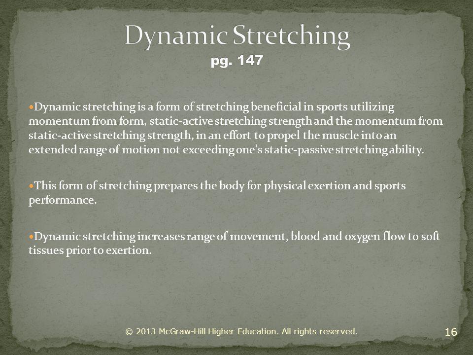 Dynamic Stretching pg. 147