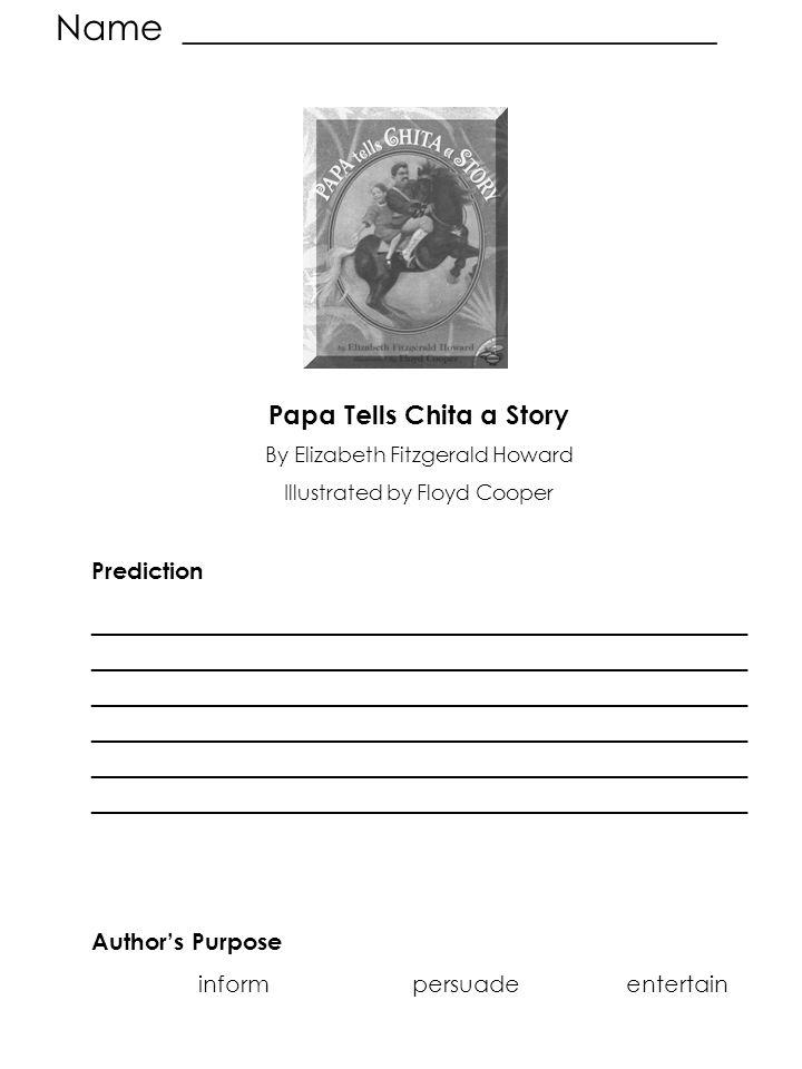 Papa Tells Chita a Story