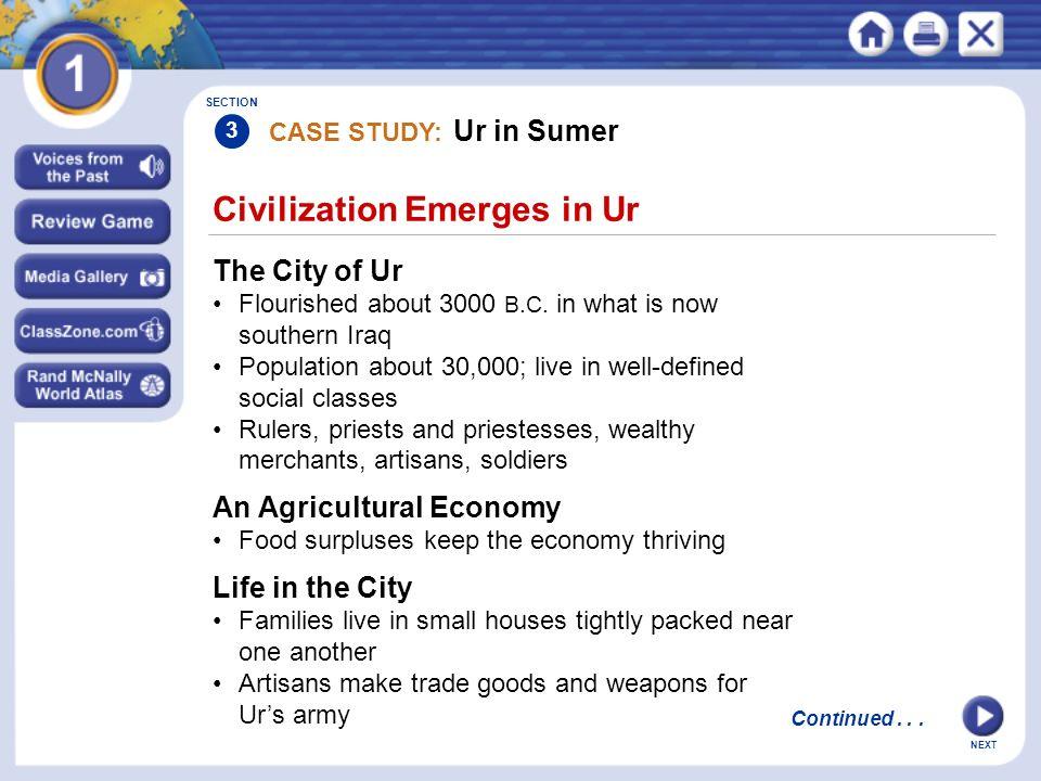 Civilization Emerges in Ur