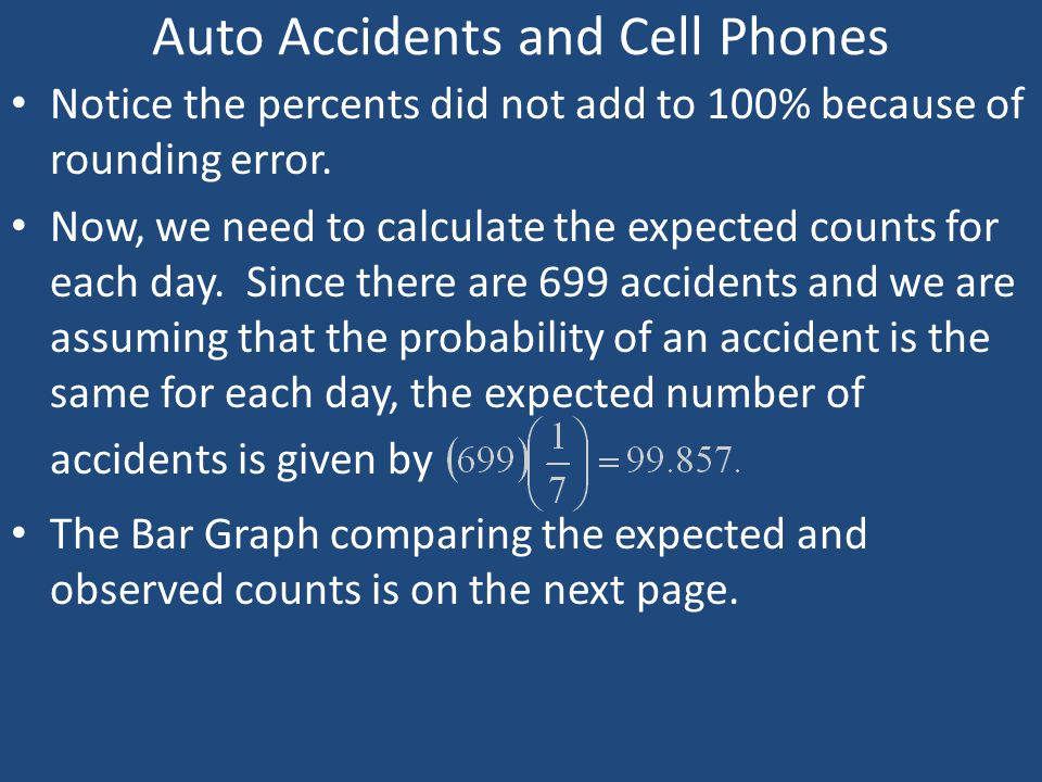 Auto Accidents and Cell Phones
