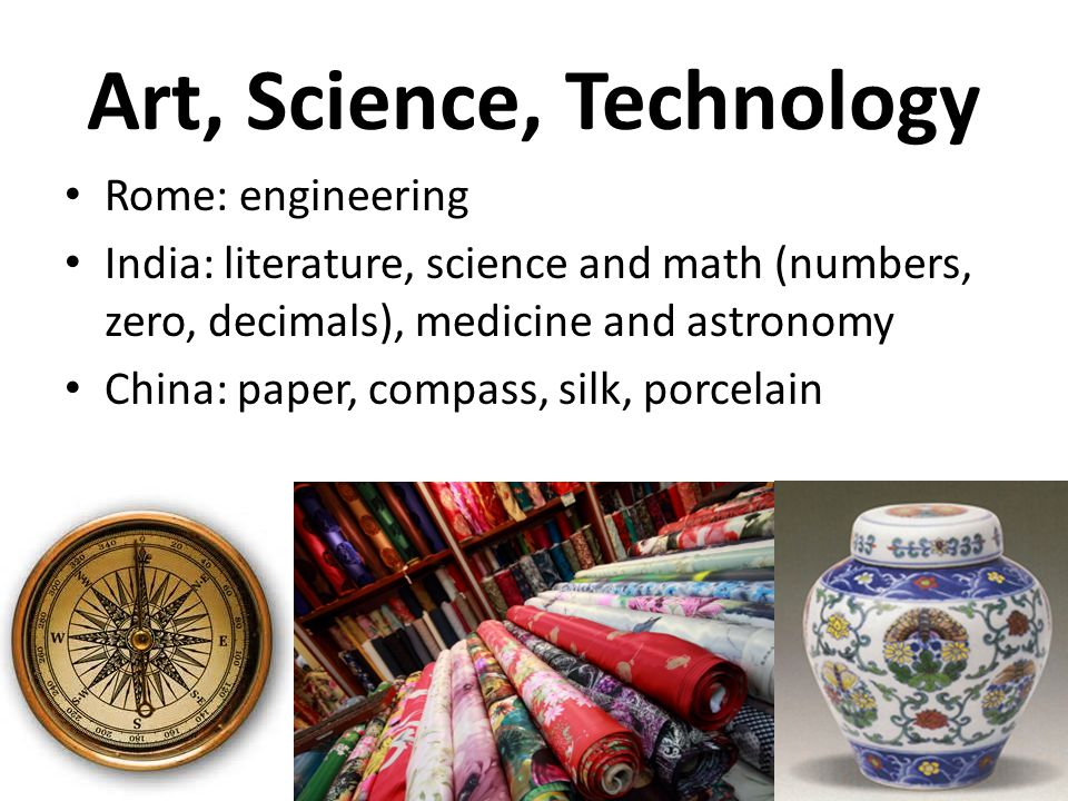 Art, Science, Technology