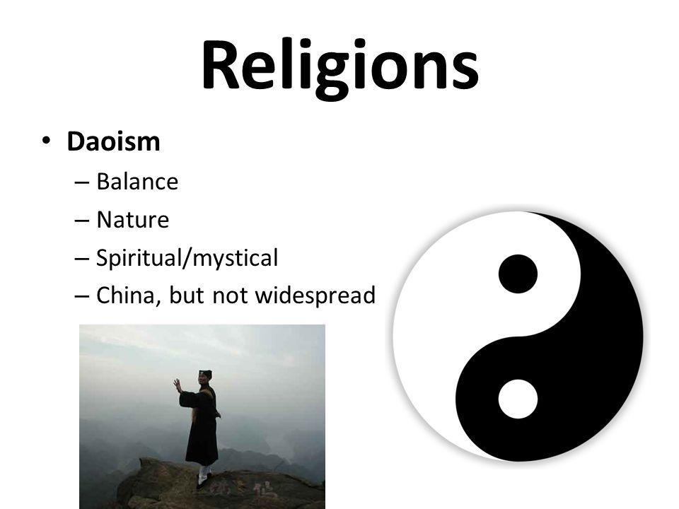 Religions Daoism Balance Nature Spiritual/mystical
