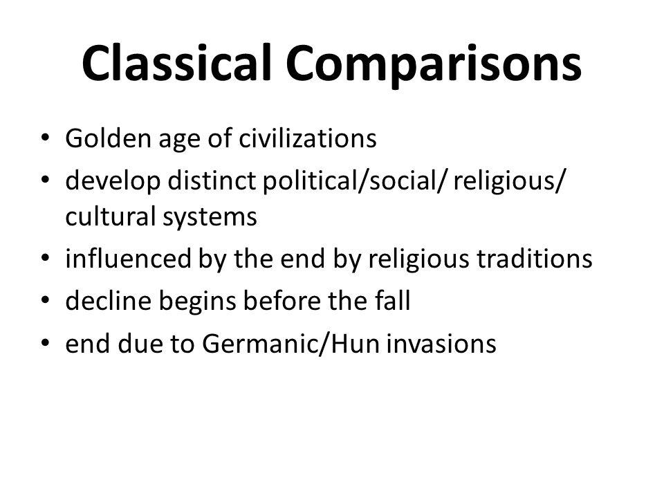 Classical Comparisons