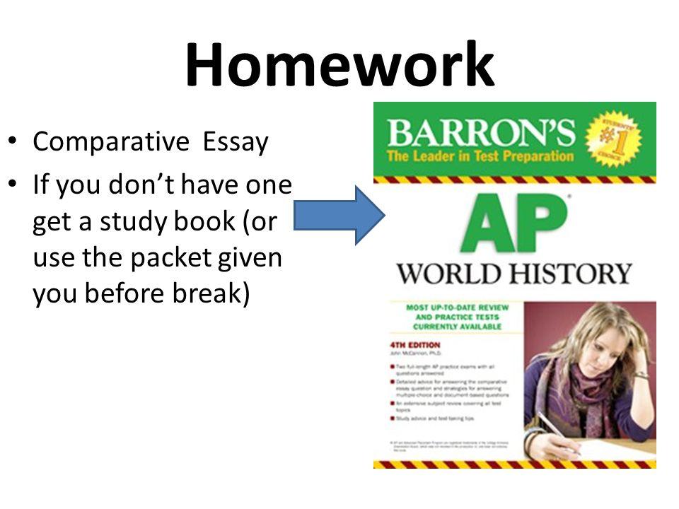 Homework Comparative Essay