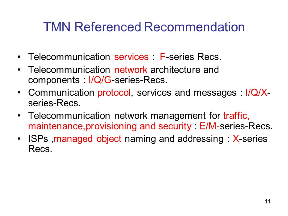 TMN Referenced Recommendation