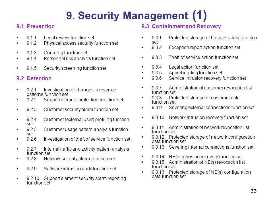 9. Security Management (1)
