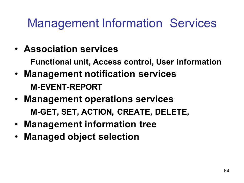 Management Information Services