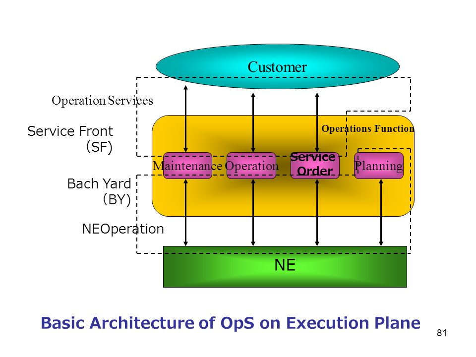 Basic Architecture of OpS on Execution Plane