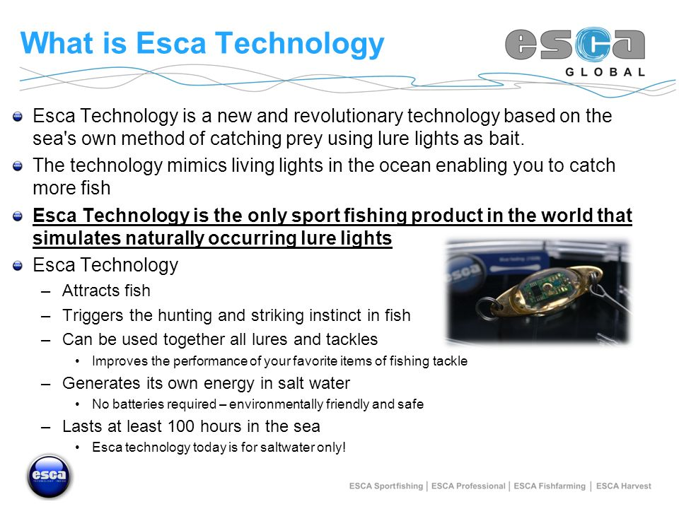 What is Esca Technology