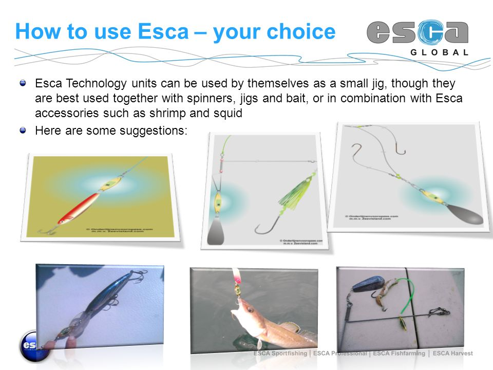 How to use Esca – your choice